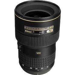FX Nikon AF-S NIKKOR 16-35mm f/4G Ed Réduction des Vibrations lentille de Zoom avec Mise au Point Automatique pour appareils Photo réflex numériques Nikon International Version (sans Garantie)