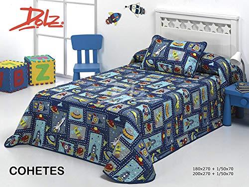 ecdf9f5de Dorte Hogar Bouti Children s Bedding Set for 90 cm Bed in Size 180 x 270 cm