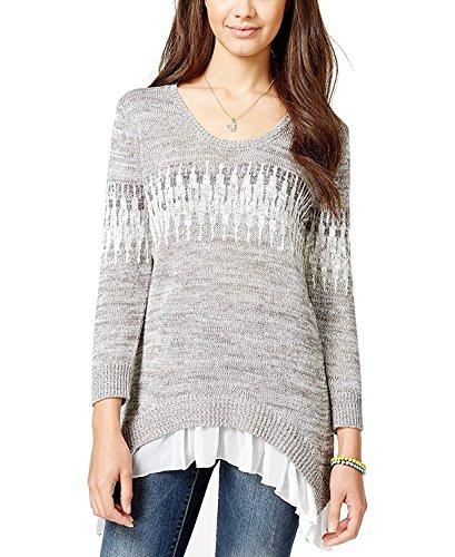 3/4 Sleeve Wool Pullover (American Rag Women's Scoop Neck Sweater Size M …)