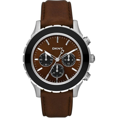 DKNY Gents Sport Leather Strap Watch NY1514