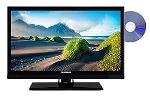 Telefunken XF22D101D 56 cm (22 Zoll) Fernseher (Full HD, Triple Tuner, DVD-Player)