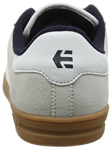 Etnies Scam, Scarpe da Skateboard Uomo White/navy/gum