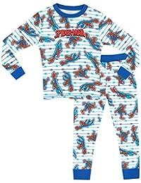 L'Homme Araignée - Ensemble De Pyjamas - Spiderman - Garçon - Bien Ajusté