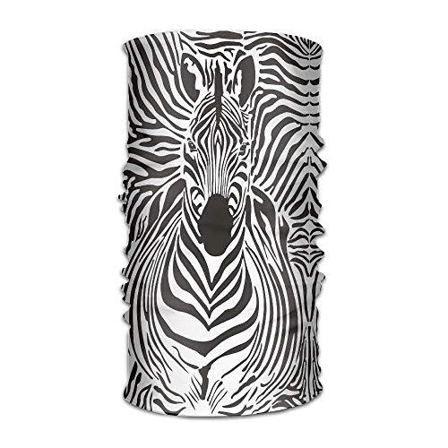 Stirnband Bandanas Cool Zebra Vielseitig Tägliche Kopfbedeckung Nackenmanschette Balaclava Helm Liner Reiten Gesichtsmaske für Kinder Frauen Männer Im Freien UV-Schutz Unisex8 (Kinder Ravens Helm)