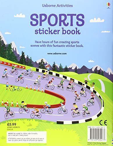 Sports Sticker Book (Usborne Sticker Books)