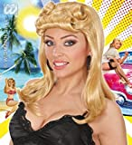 WIDMANN 40s Brown Pin Up Girl Wig (peluca)