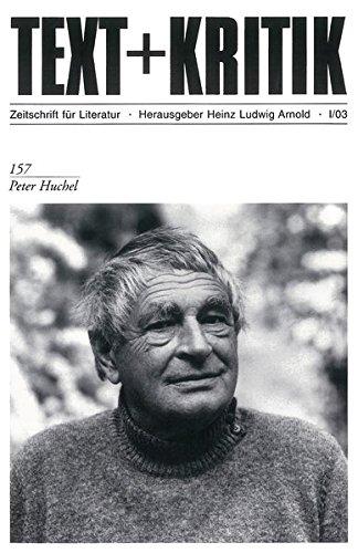 Peter Huchel (TEXT+KRITIK 157)