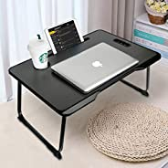 Laptop Desk, Astory Portable Laptop Bed Tray Table Notebook Stand Reading Holder with Foldable Legs & Cup
