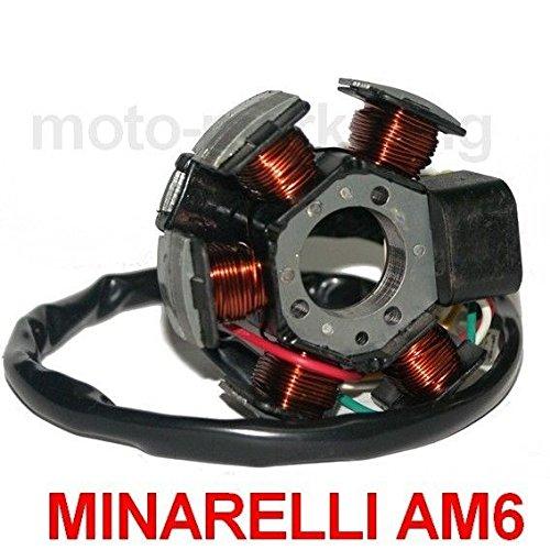Preisvergleich Produktbild LICHTMASCHINE STATOR ZÜNDUNG für MINARELLI-MOTOR 50 AM3 AM4 AM5 AM6 EU1