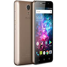 M-NET Power 1 Android 7.0 3g Smartphone con 5050mAh OTG 5.0 HD IPS 8GB ROM+1GB RAM 5MP Dual Pixel - Oro