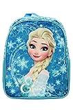 Sac à Dos Star Disney La Reine des Neiges Forme S A Tout Satin + Face Avant Dimension 21 x 9,5 x 23,5 cm