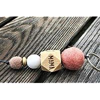 Schlüsselanhänger mit Name oder Wort // Hochzeitsgeschenk // Muttertag // Schlüsselanhänger // MAMA // personalisierbar //
