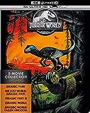 Jurassic Park 4k Steelbook Full Collection 1-5 4K Ultra HD Limited Edition 6 Disk Includes Jurassic park fallen 4k kingdom Region Free