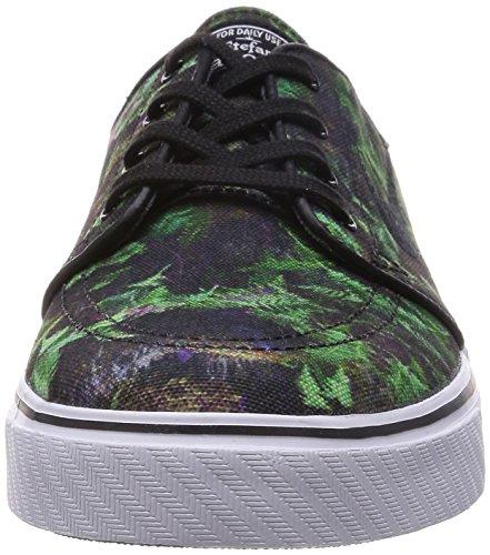 Nike Zoom Stefan Janoski Cnvs Prm, Chaussures de Skate Homme, Multicolore, Taille GORGE GREEN