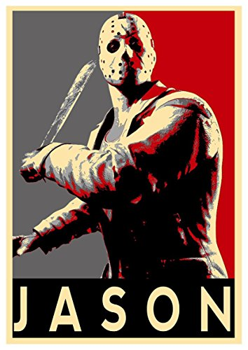 th - Propaganda Horror - Jason Voorhees - A3 (42x30 cm) ()