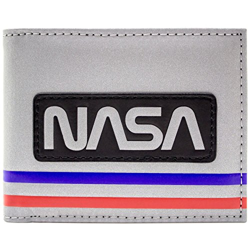 NASA Astronaut Raumanzug Stil Silber Portemonnaie -