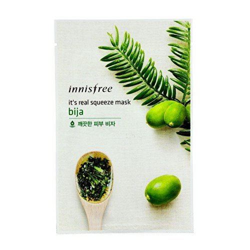 Innisfree Its Real Squeeze Mask - Bija 10pcs