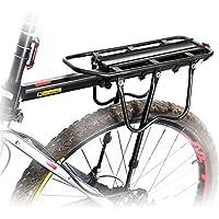 WEST ciclismo supportato 50 kg Sport-Portapacchi posteriore per bicicletta, per bici con freno a disco freno a V-Cargo - Lega Posteriore Rack
