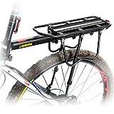 WEST ciclismo supportato 50 kg Sport-Portapacchi posteriore per bicicletta, per bici con freno a disco freno a V-Cargo