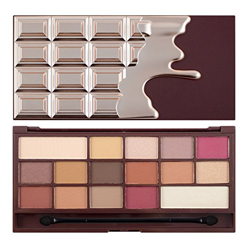 Makeup Revolution Lidschatten Palette I Heart Makeup Chocolate Elixir