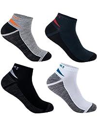 L&K-II Pack de 12 Calcetines de deporte Sneaker Cortos para hombre multicolor 92231