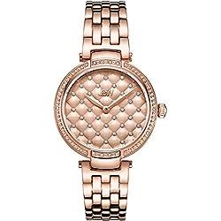 JBW Gala Reloj de mujer diamante cuarzo suizo 34mm analógico J6356A