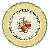 Villeroy & Boch French Garden Valence Speiseteller, 26 cm, Premium Porzellan, Weiß/Bunt