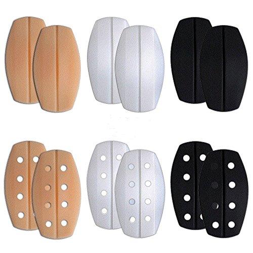 BTHEONE [6 Paar elastischer, weicher Silikon-BH-Träger mit rutschfesten Schulterpolstern - Wide Strap Schwangerschafts-bh
