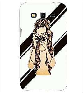PrintDhaba Camera Girl D-2363 Back Case Cover for SAMSUNG GALAXY GRAND 2 (Multi-Coloured)