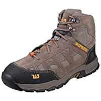 Caterpillar CAT Workwear Mens Structure Mid Slip Resistant Suede Safety Boots