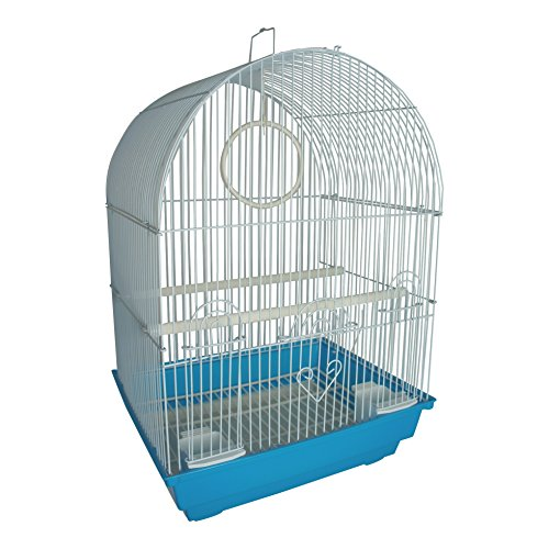 Heritage FPO025 Kendal Vogelkäfig, geeignet für kleine Tiere wie Wellensittiche, Finken, Kanarienvögel, 34 cm x 28 cm x 49 cm