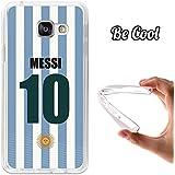 BeCool® - Coque Etui Housse en GEL Flex Silicone TPU Samsung Galaxy A3 2016 Messi