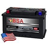US Autobatterie 90Ah 830A/EN USA Batterie Pluspol Links Antara Captiva 59095