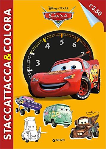 Cars. Staccattacca e colora. Ediz. illustrata