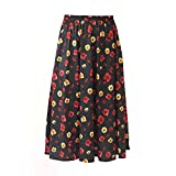 Fashion Friendly Ladies Elasticated Waist Skirt - 6 Great Patterns - Sizes 8-36 (16, Floral Serenade)