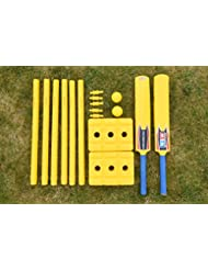 Kit de Cricket pour le Jardin - Super Résistant [Net World Sports]