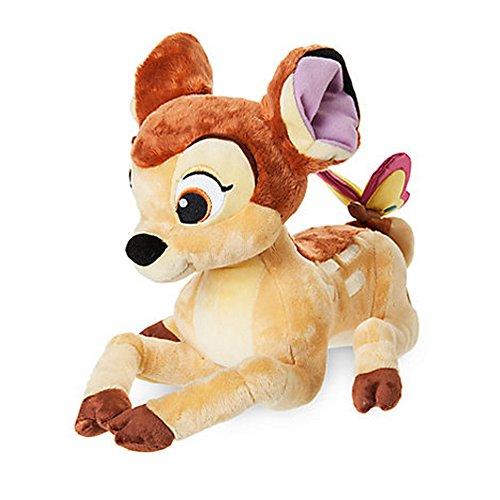 Offizielles Disney Bambi 27cm Bambi mit Schmetterlings-weichem Plüsch-Spielzeug