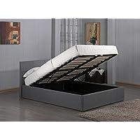 End-Lift Ottoman Storage Bedframe
