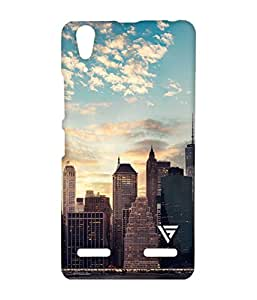 Vogueshell City Printed Symmetry PRO Series Hard Back Case for Lenovo A6000