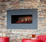 Faber OPTI-V Single Interior Built-in Fireplace Eléctrico Negro - Chimenea (35 W, 760 mm, 350 mm, 450 mm, 26 kg, 850 mm)