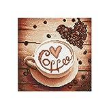 Crewell Bohrer Kaffeetasse 5d Diamant Stickerei DIY Malerei Kreuzstich-Set Kunst Handwerk Dekoration für Das Wohnzimmer