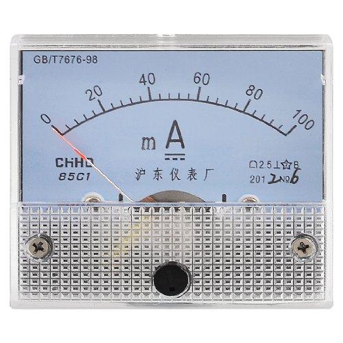 Preisvergleich Produktbild aktuellen Messung DC 0–100mA Maßstab Milli Ampere Amperemeter Panel Meter