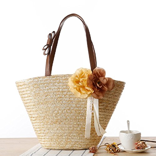 Women, Borsa a spalla donna straw color straw color