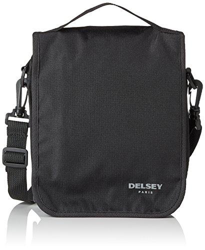 Delsey Sporttasche, schwarz (Schwarz) - 00394050000 (Umhängetasche Delsey)