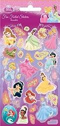 Disney Princess New Sticker Strip Holofoil, 9.5x19.5 Cms Pack Size