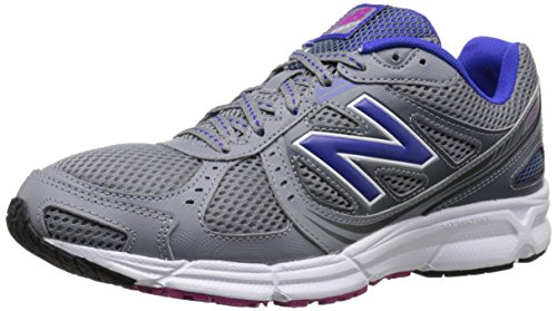 New Balance Women's WE495 Running Shoe, Grey/Blue, 10 B US Grey/Blue