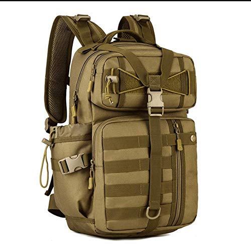 Wanderrucksack, 30 l, taktischer Rucksack, Militär-Assault Pack, Laptop, wasserdicht, für Wandern, Camping, Reisen, Trekking