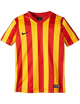 NIKE kurzarm  Striped Division - Camiseta, color multicolor (university red/university gold/black), talla l