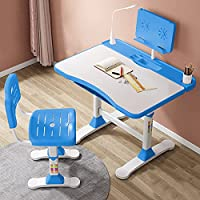 Adjustable Height, Multi-Functional Kids Study Table with Book Holder, Drawer, Extra Large tiltable Desktop with an…