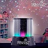 hasëndad Play Kidz Sternen Projektor Sternenhimmel LED-Lampe, schwarz, 10,5x 11,5cm
